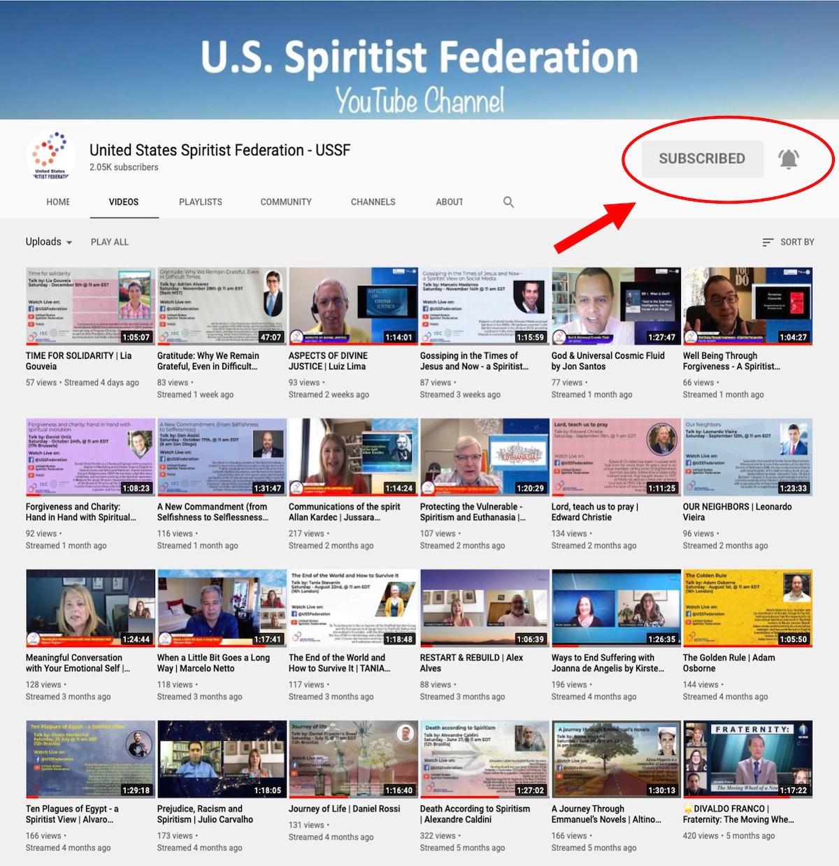 USSF Spiritist Channel